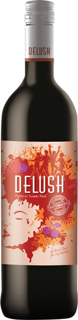 Delush Red Wine Packshot