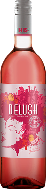 Delush Rose Wine Packshot