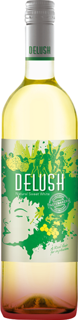Delush White Wine Packshot