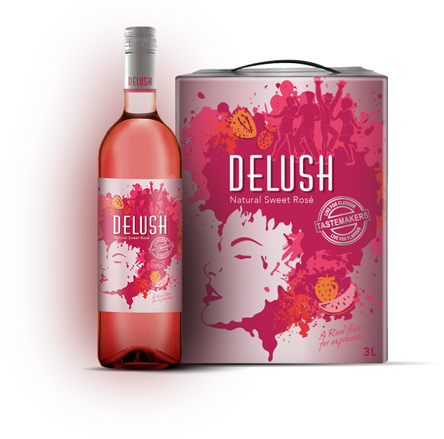 Delush Rose Wine Pack